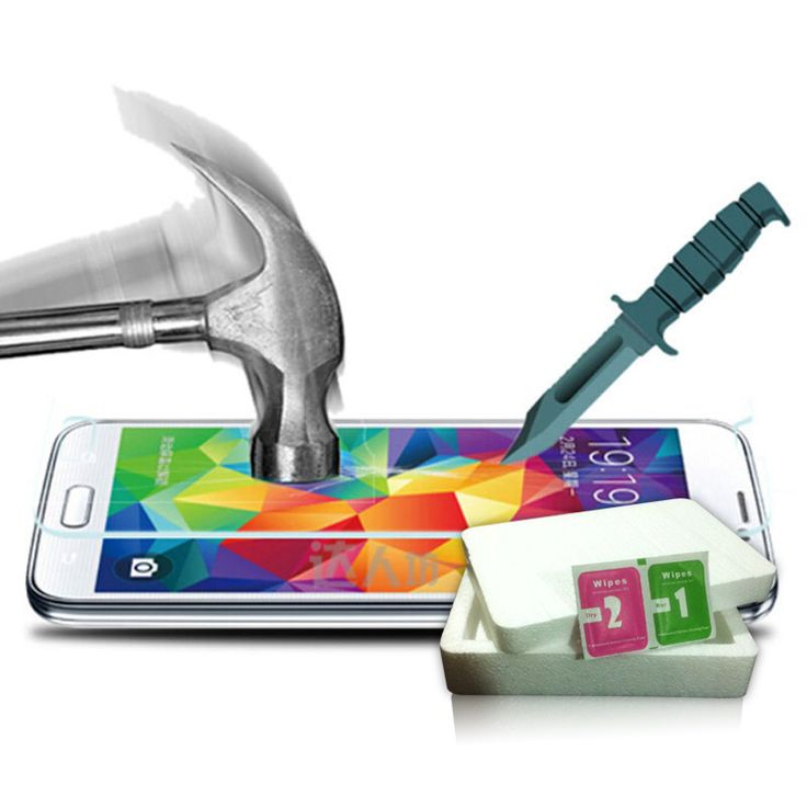 0.26mm 9H Tempered Glass for Samsung Galaxy S5 S4 J1 J2 J5 J3 J7 2016 Alpha Grand Prime Premium Screen Protector Film Retail Box