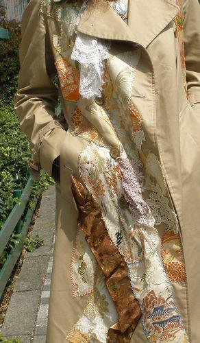 着物リメイク(服)   東京で出来る着物リメイク!ウェディング用オーダードレス 青山MOMO