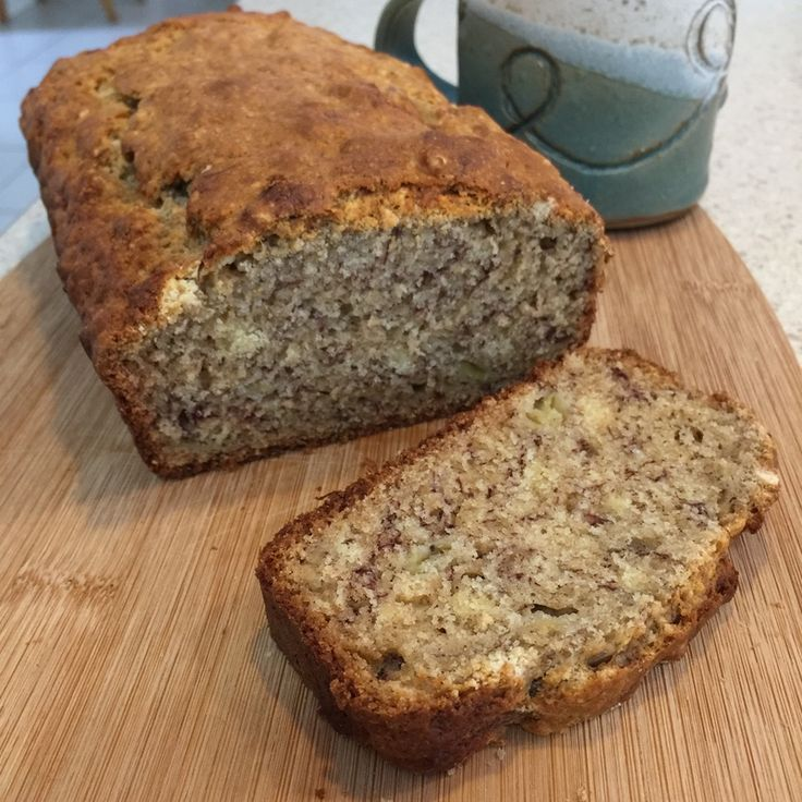 Banana bread is the one thing I can not go past at any café. Perfect for breakfast or a mid morning snack this bread is simple enough to whip up every other day.  A great way to get rid of over ripe bananas. Also a great lunchbox snack for the kids.