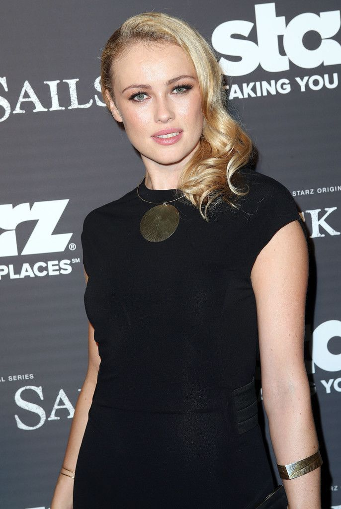 Hannah New attends the Premiere of Starz Original Series 'Black Sails' at the Harmony Gold Preview House and Theater on January 8, 2014 in Hollywood, California.