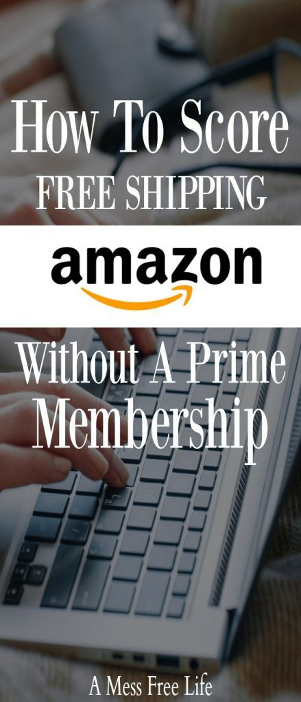 If you love Amazon, love free shipping but don't want all the added benefits that comes with a Prime Membership, we've got five ways you can score free shipping without paying for a membership.  #moneysaving #onlineshopping #PrimeMembership #budget #Christmas #holidayshopping
