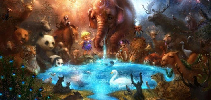 Ascending Into Oneness!: Animals, Inspiration, Life, Fantasy Art, Google Search, Illustration, Thirst, Alex O'Loughlin