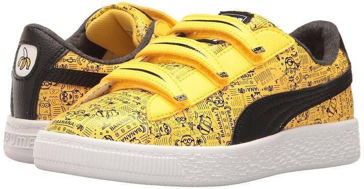 Puma Kids - Minions Basket V Kids Shoes