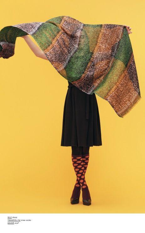 Marimekko Winter 2013: Trampoliini wool socks