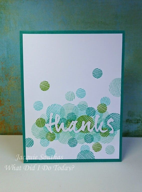 What did I do today?: Make It Monday #164: Cluster Stamped Sentiment