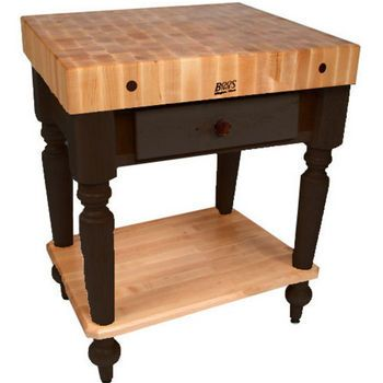John Boos Kitchen Work Tables -  #kitchensource #pinterest #followerfind