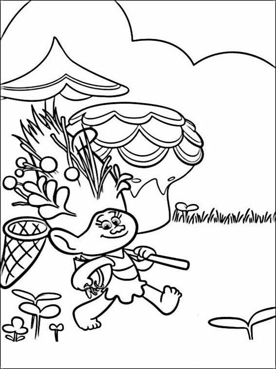 Desenhos Para Colorir Dos Trolls Avec Images Coloriage Dessin