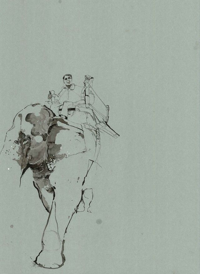 George Butler Repotage Illustrator Mahout