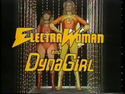 Electra Woman and Dyna Girl - Show Opening - 1976 The Kroftt Supershow - Another obscure kids classic from '76  - cheesy and campy but I loved it as a kid.  Plus Deidre Hall went on to play one of my favorite characters on Days of Our Lives - Dr Marlena Evans :)