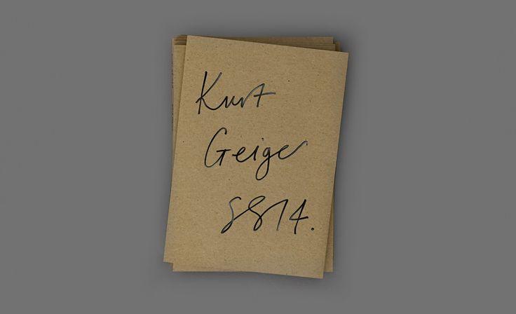 Lookbooks / Kurt Geiger / Hales Curtis