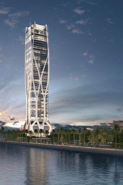 """Brasileiros compram maior parte de prédio de luxo em Miami. O apartamento mais baratinho custa US$ 5 milhões. Edifício tem vista para o Oceano Atlântico e até áreas que exalam """"aromas específicos"""" (Foto: Divulgação)"""