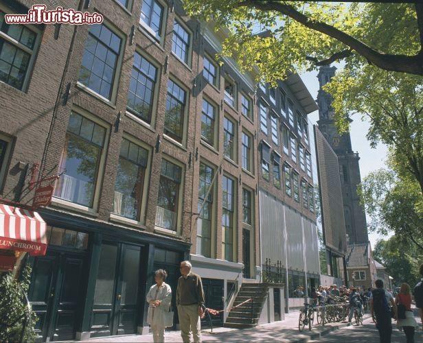 OLANDA Amsterdam. La casa natale di Anna Frank