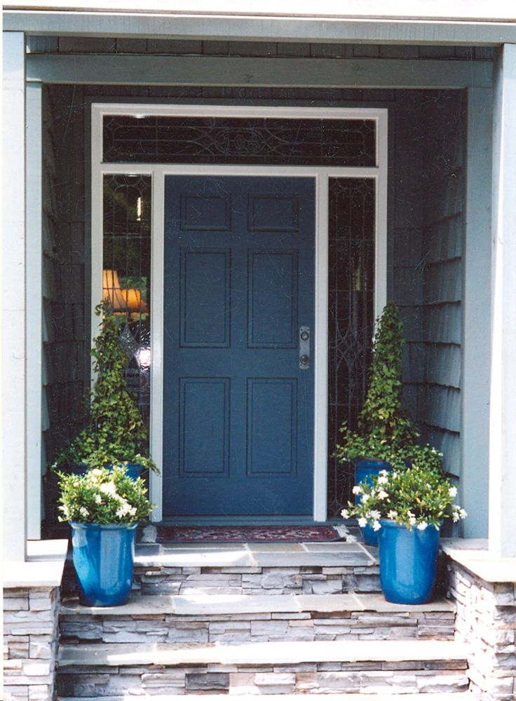Blue Front Door 34 best front door ideas images on pinterest | blue doors, front