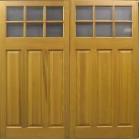 Middleton Cedar Timber Side hinged Side Hinged Garage Door at Garage Doors Online