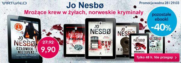 Jo Nesbø – przegląd twórczości i rekomendacje | Świat Czytników