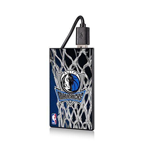 Dallas Mavericks Net Design 2200mAh Credit Card Powerbank NBA ** Click image to review more details.