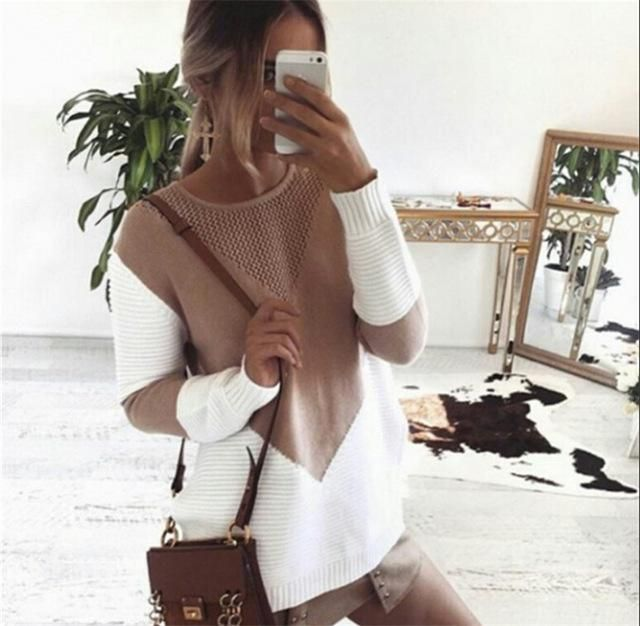 WINTER HOLLOW KNITTED SWEATER
