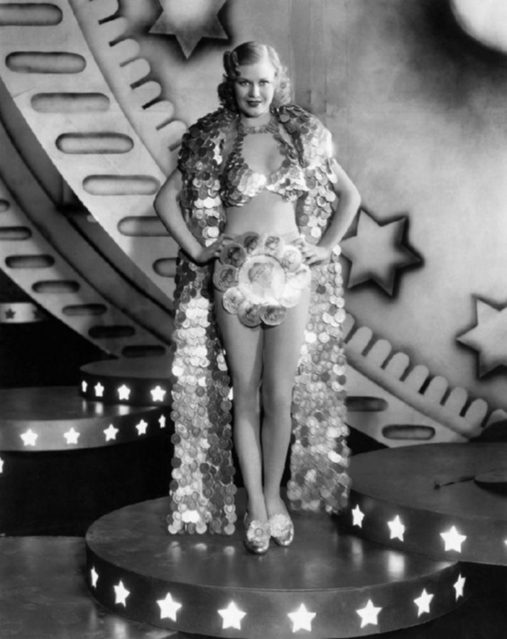 "Ginger Rogers - ""Gold Diggers Of 1933""Golddigger, Gold Digger, 1933, Ginger Rogers, Pre Cod, Movie, Hollywood, Golden Age, Gingers Rogers"