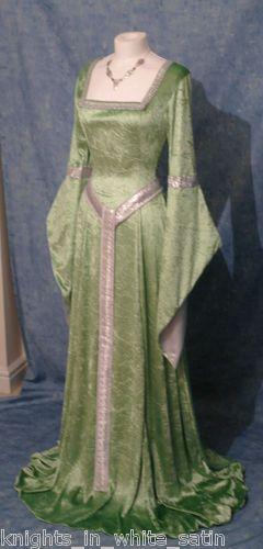 Medieval Gothic Celtic Dress Handfasting Elven Renaissance Custom Made   eBay