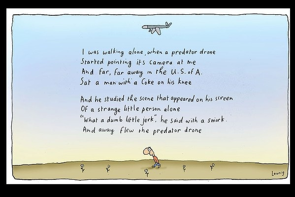 A look at the follies, foibles and joys of the human race through the eyes of cartoonist Michael Leunig.