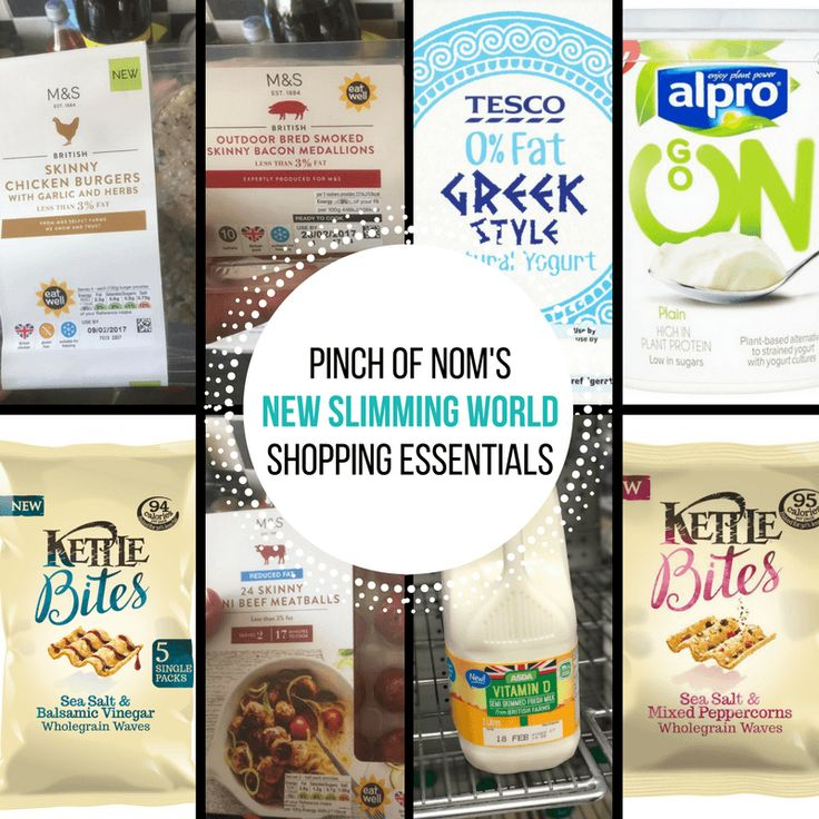 New Slimming World Shopping Essentials – 10/2/17