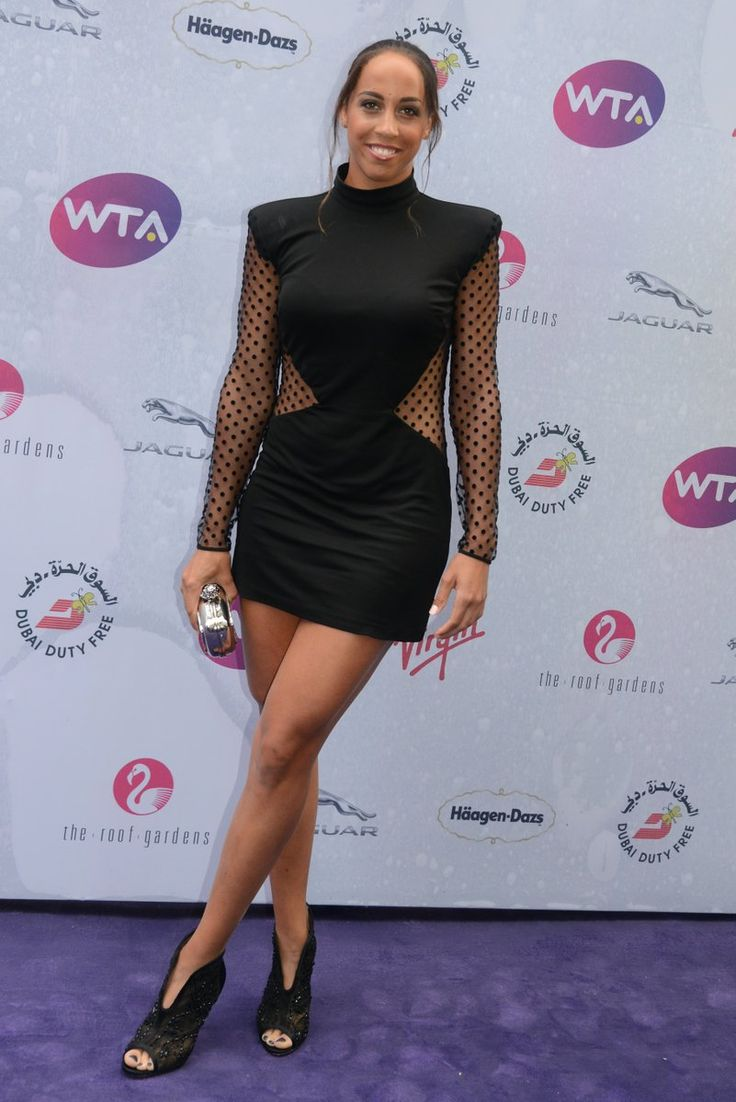 Madison Keys at the 2016 WTA Wimbledon fête - from Christopher Levy