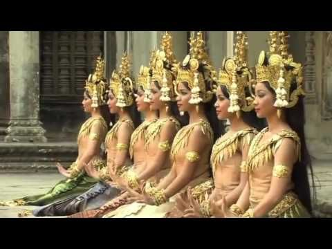 This Vedio Apsara dance of Cambodia