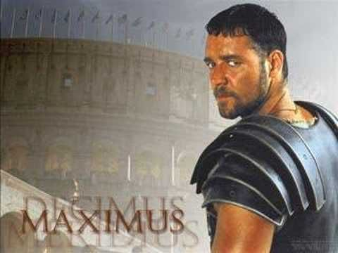 Gladiator.  Now We Are Free.  so beautiful, the wheatfield scene gets me every time.
