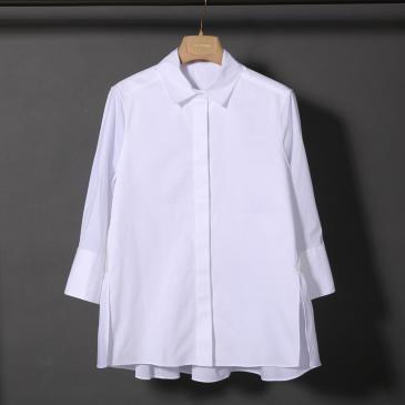 欧米風高級レディース服  七分袖シャツ