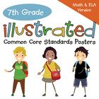 Bring the seventh grade Common Core Standards to life with these easy-to-use, illustrated posters. They are perfect for showing students, parents, ...