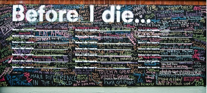 Before I dieArt Center Fil, Buckets Lists, Art Class, Art Centerfil, Before I Die, Community Art, Die Wall, Die Chi, Lillstreet Art