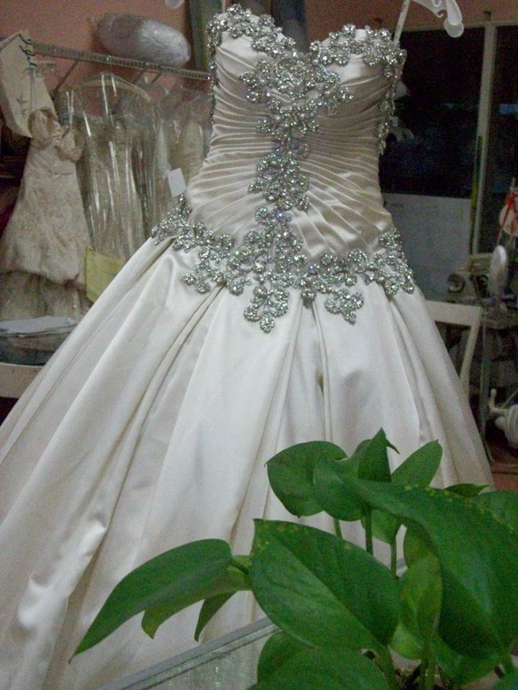 Princess Royal Wedding ball gown by doriebridal on Etsy