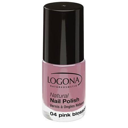 Logona: Natural Nail Nagellack (4 ml): Logona: Farbe: Nagellack 04 pink blossom