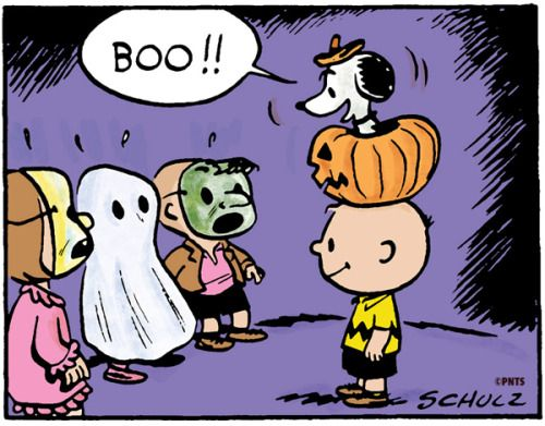 peanuts halloween with charlie brown and snoopy - Charlie Brown Halloween Cartoon