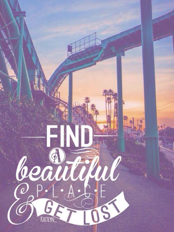 find a beatiful place