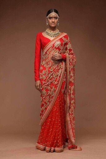 Option 4 for The WeddingSabyasachi saree
