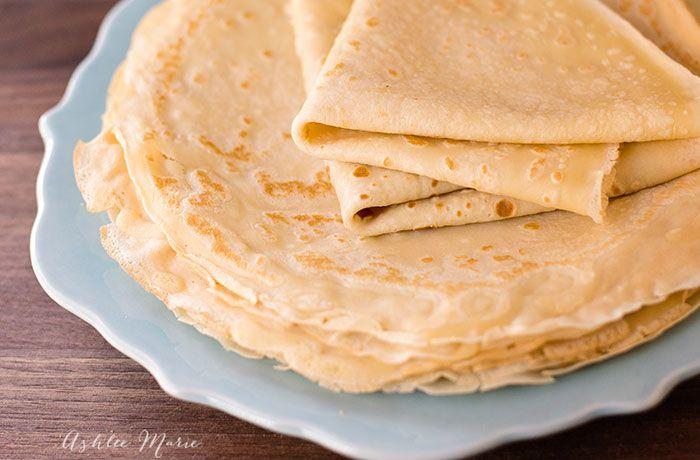 Simple Crepe Recipe | Ashlee Marie