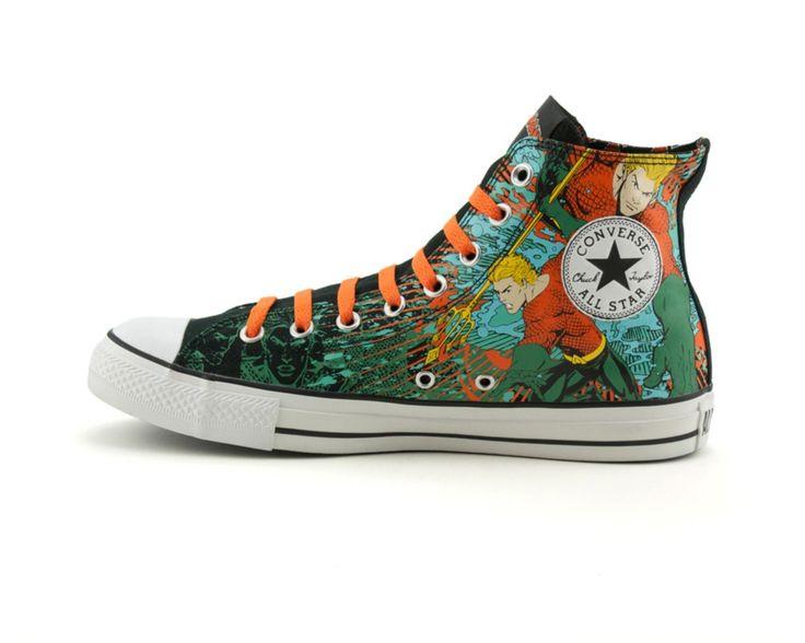 9e43ec855ff4 Sneaker Snap Shoes Star Converse and Geek All Hi Batman Comic FqwaOqX