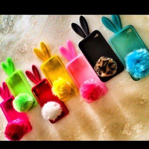 Rabbit phone cases! CUTE