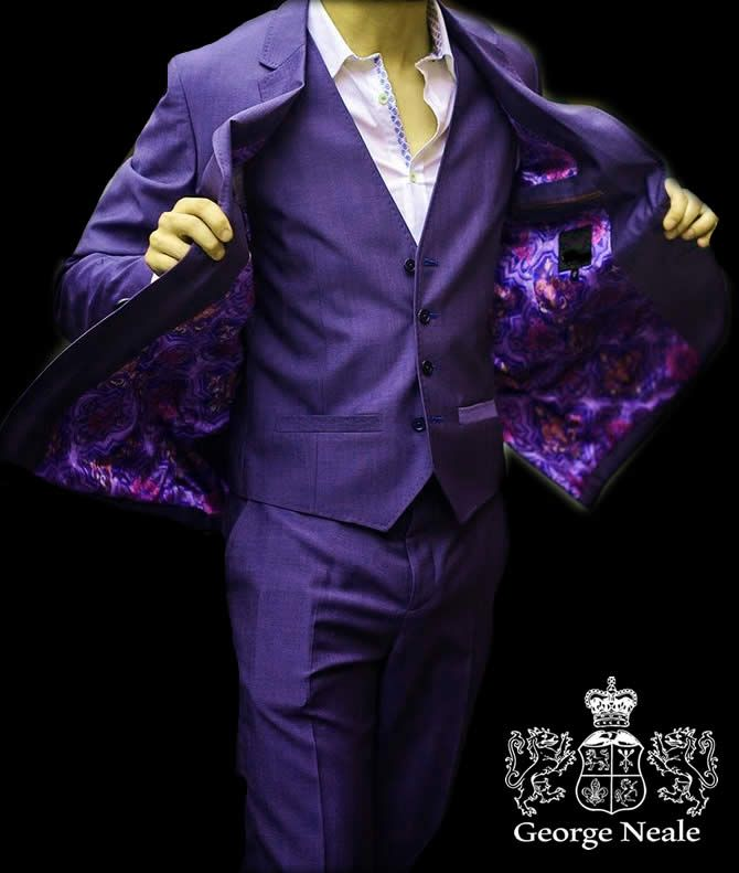 Purple Suits For Men    Mens Accessories and Fashion News and Reviews