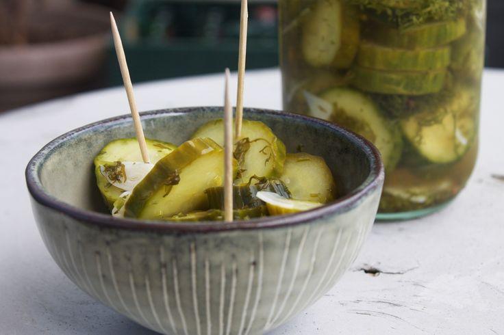 Dill pickles aka syltede agurker med sydstatsaccent