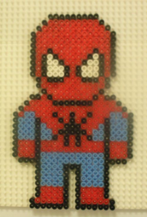Spiderman Hama Bead Pattern