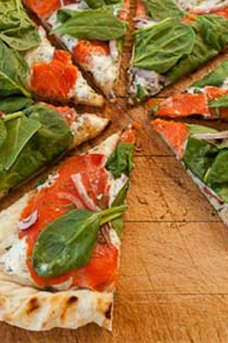 #Epicure Sylvie's Grilled Smoked Salmon Pizza