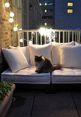 The 25 best small balconies ideas on pinterest patio - Coleman small spaces bbq decoration ...