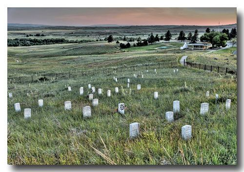 Little Bighorn Battlefield- Custer's Last Stand. If possible, make sure to take time for the interpretive ranger talk before walking around the monmument fields. It puts everything in a deeper perspective.