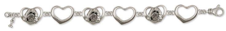 Havanese Bracelet Handmade Sterling Silver Dog Jewelry HV7-B