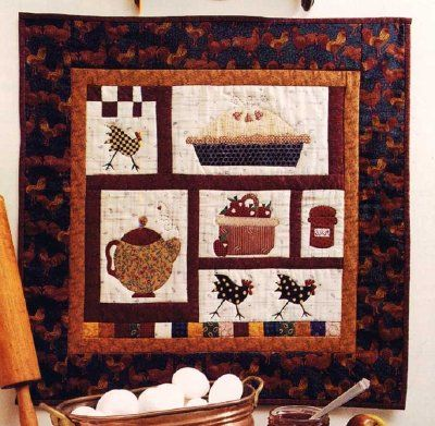 Kitchen Quilting Ideas : 10 Best images about quilt : food kitchen on Pinterest Kitchen aid mixer, Vintage apron and ...