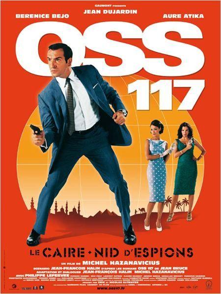 OSS 117, Le Caire nid d'espions : Affiche Aure Atika, Bérénice Bejo, Jean Dujardin, Michel Hazanavicius