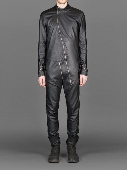 A NEW CROSS FLIGHT SUIT WITH ZIP DETAILS