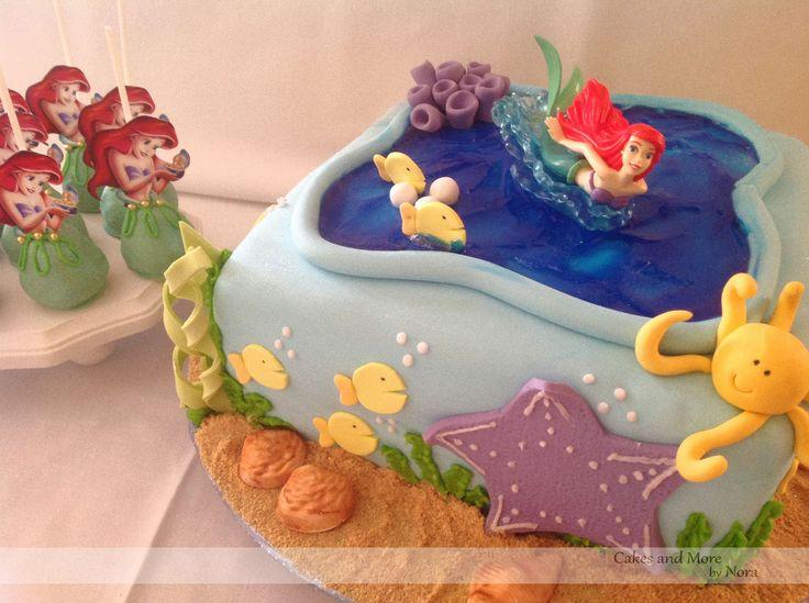Little mermaid cake hannahs 4th